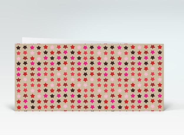 geburtstagskarte rote geburtstagssterne auf beige englisch designer. Black Bedroom Furniture Sets. Home Design Ideas