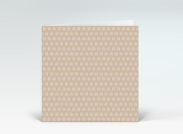 geburtstagskarte geschenkemuster rosa auf beige designer. Black Bedroom Furniture Sets. Home Design Ideas