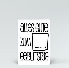 Geburtstagskarten Schwarz Designer Karten De