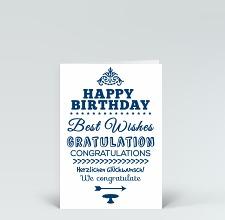 Moderne Geburtstagskarten | Designer Karten.de